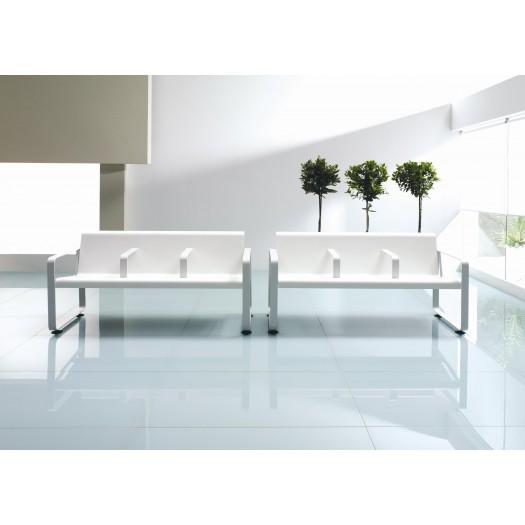 Bancada de Madera Neos3, ideal salas de espera de oficinas