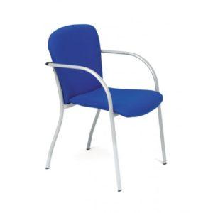 Silla azul confidente para salas de espera: Split