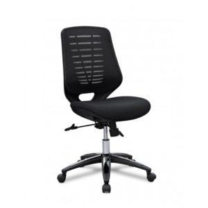 silla de oficina negra Lotus 1