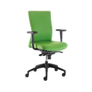 Silla ergonomica M41 Para oficina negra, verde o naranja